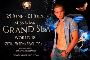 Сандански – домакин на Miss & Mr. Grand Sea World 2018